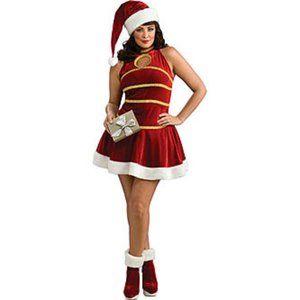 New Rubie's Sexy Santa Costume Size 14 - 16